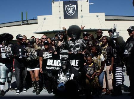 Oakland Raiders Fans Violence