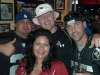 Silver & Black Soldiers Booster Club with Arizona Cardinal fans