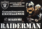 Fans Against Violence - Raider Man