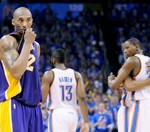 Thunder vs Lakers Playoff game