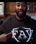 Aaron Curry message to Fans and Contest for FansAgainstViolence.org