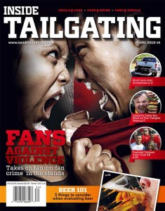 Inside Tailgating Magazine -Fans Against Violence