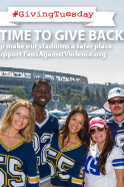 Support Fans Against Violence on #GivingTuesday